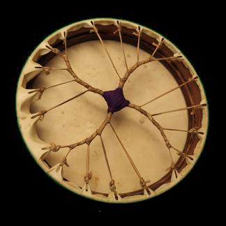 Tambor chamánico espiral